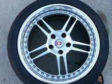 HRE 447R wheels for sale