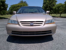 Honda Accord paint repair project to sell