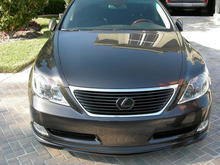 Wald Body Kit Front; Painted Front Grill & Emblem