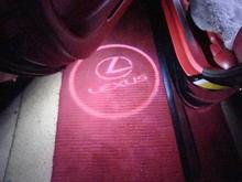 DSC02417 Projector Lexus logo in door panel