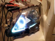 Ls460 custom led headlights