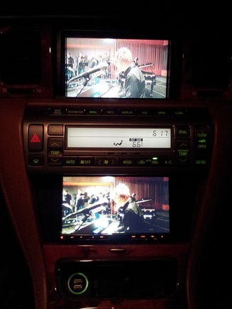 MVA12L Play DVD source on both Screens; Retained Factory Navigation