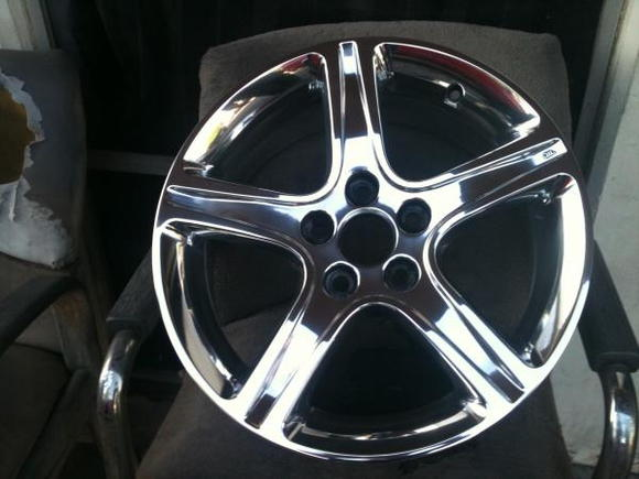IS300 rims polished