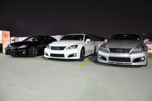 starting from left 1) DFLORES 2) fleadog99 3) BigMikeISF