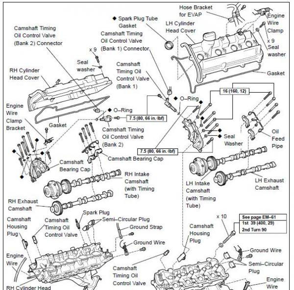1996 Lexus Ls400 Engine Diagram