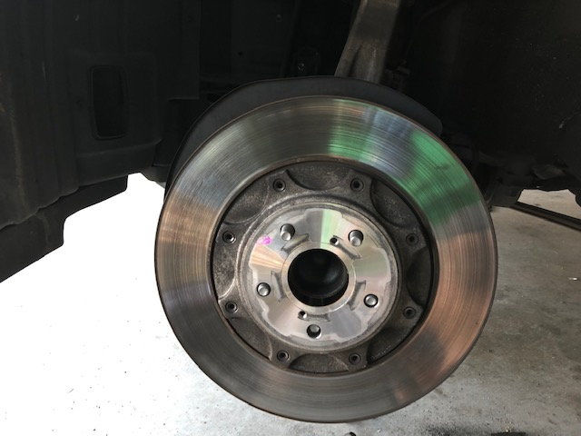 Install of FSport StopTech Slotted Rotors and Akebono