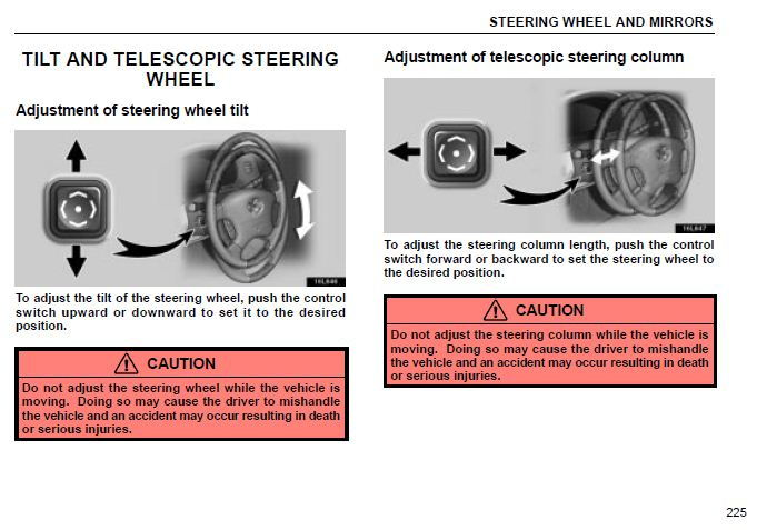 memory seat and steering adjustment reset clublexus lexus forum