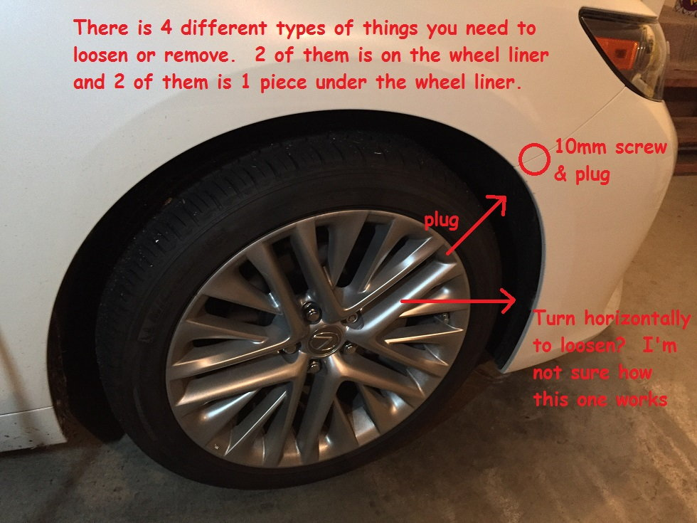 Guide to remove the front bumper and replace the parking