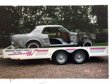Re-done in 1983 with Black Pony Interior, and complete body/paint restoration in 1989, by previous owner.