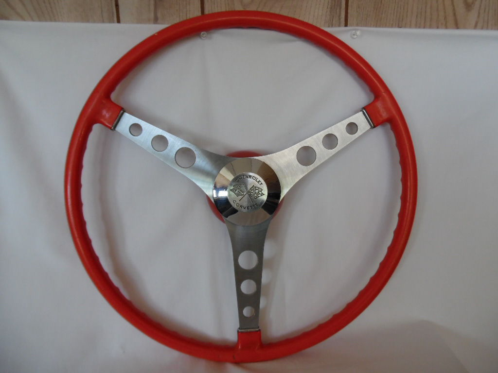 17 Quot Corvette Orange Steering Wheel What Year Is It
