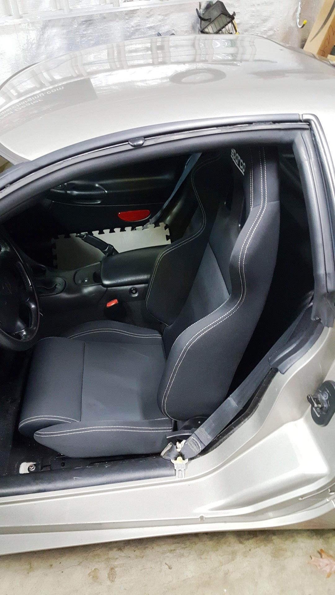Sparco R100 in my FRC - CorvetteForum - Chevrolet Corvette