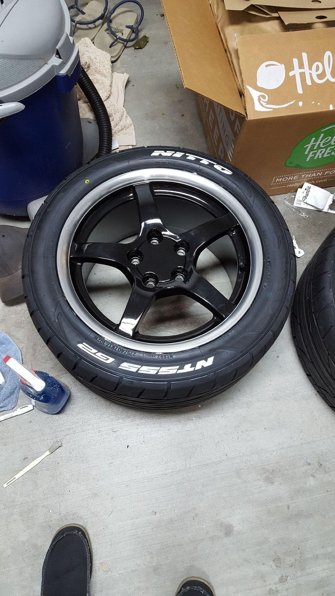 New Rims and Tires CorvetteForum Chevrolet Corvette Forum