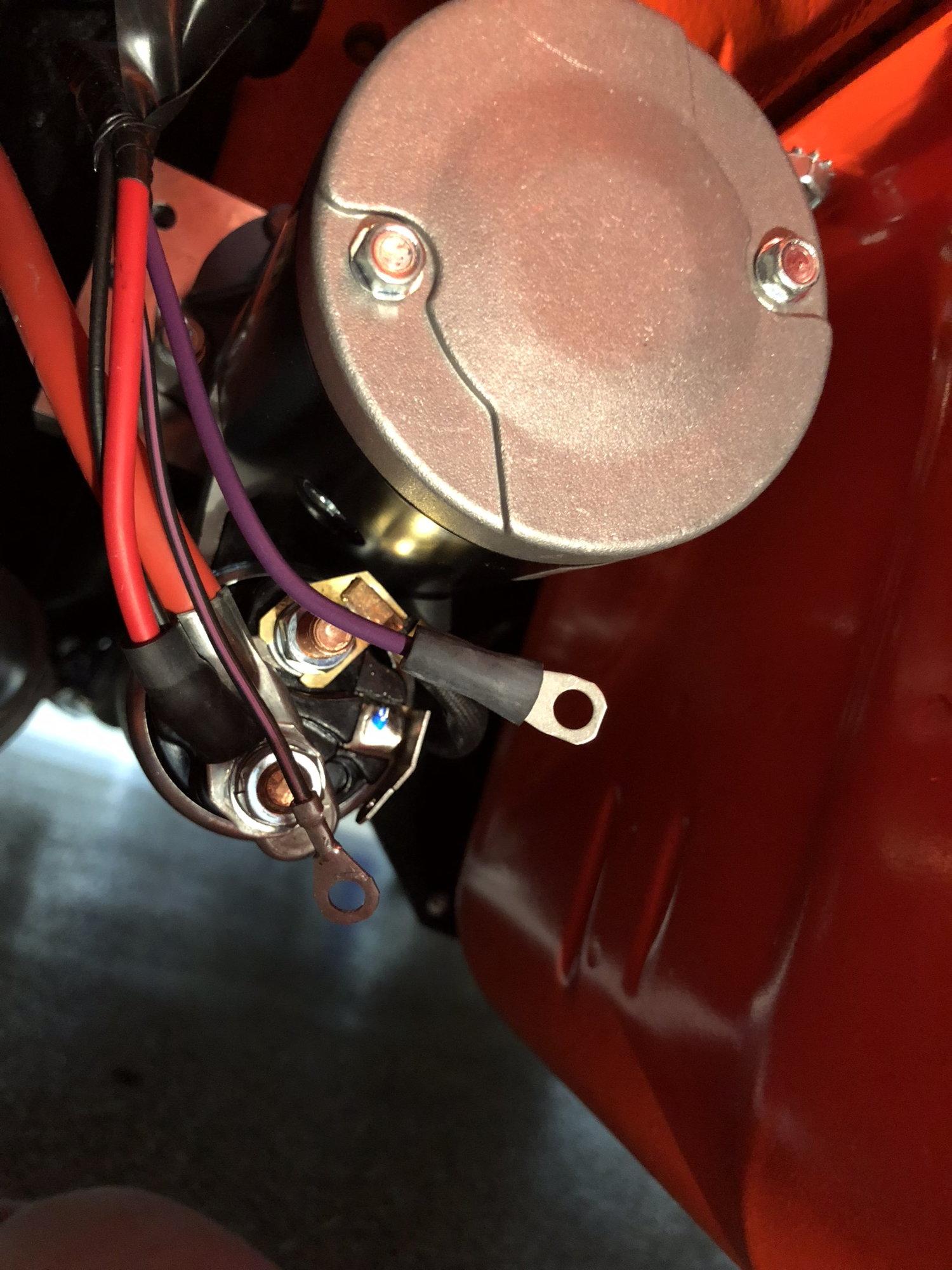 C2 3 terminal high torque starter wiring - CorvetteForum - Chevrolet