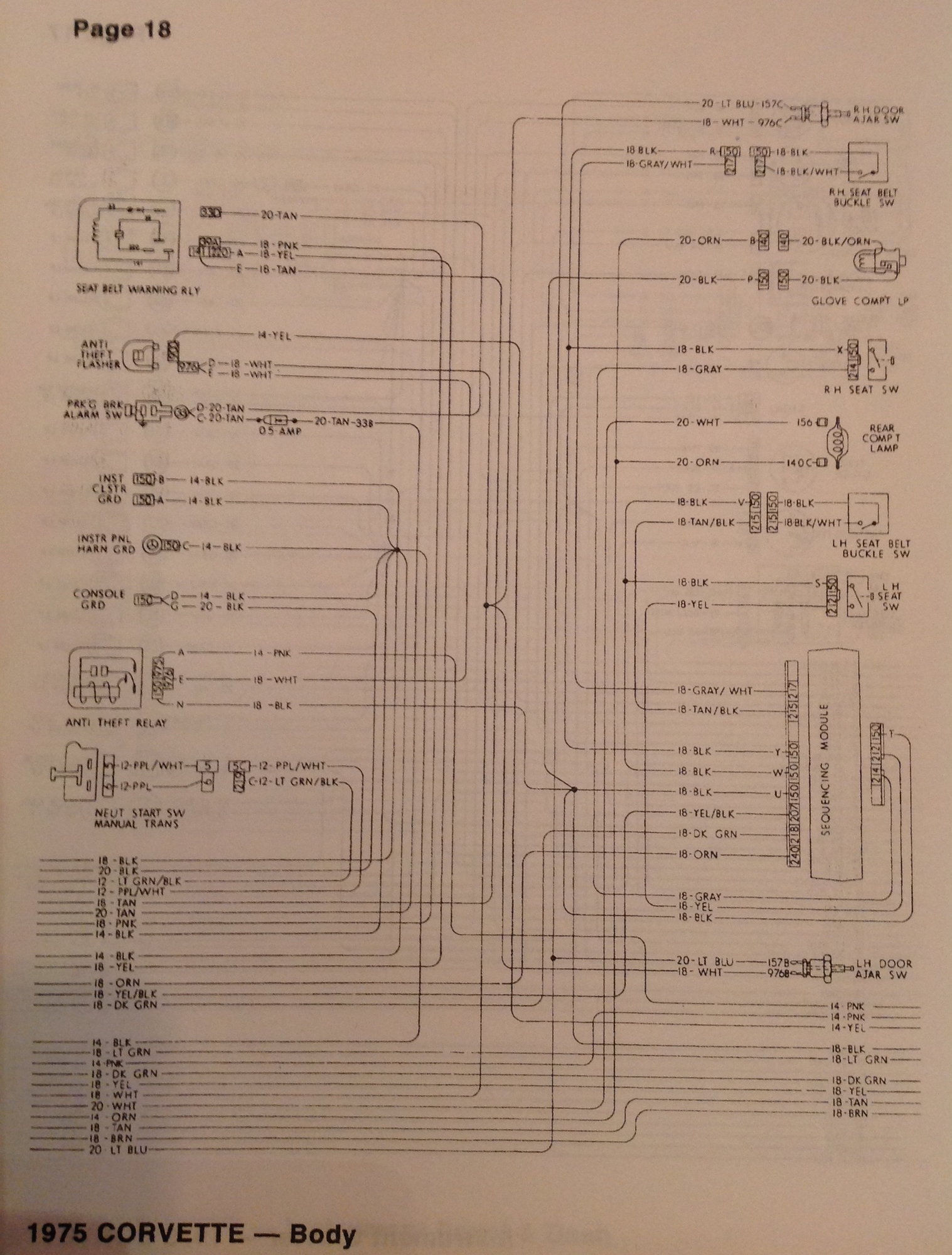 1975 Wiring Diagram - Corvetteforum