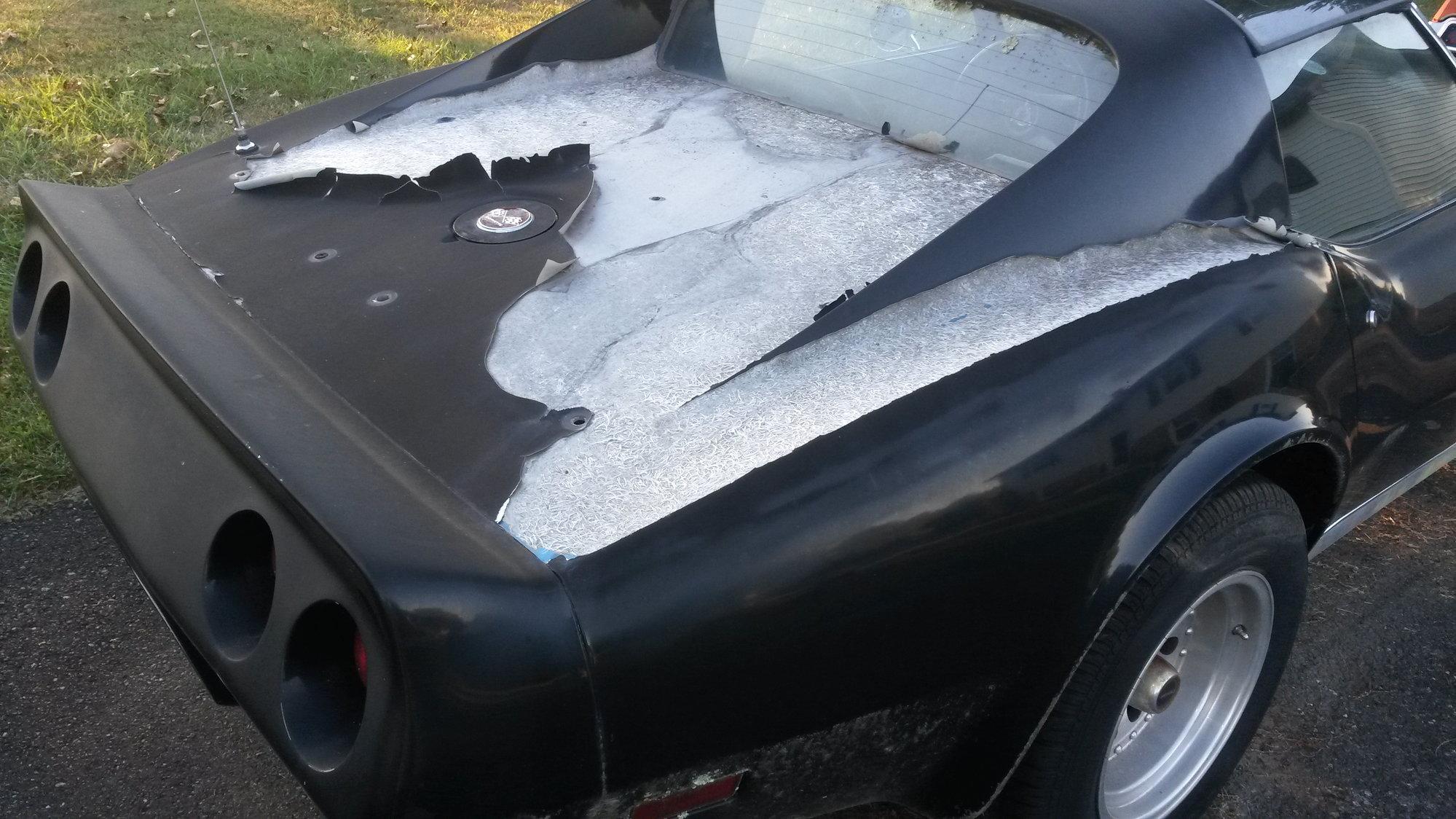 how to repair weathered fiberglass? - CorvetteForum