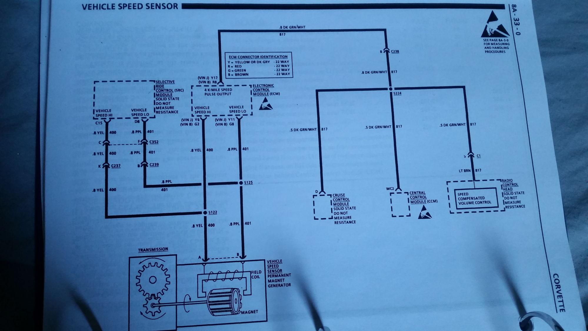 Hooking up spedometer signal help - CorvetteForum - Chevrolet ...