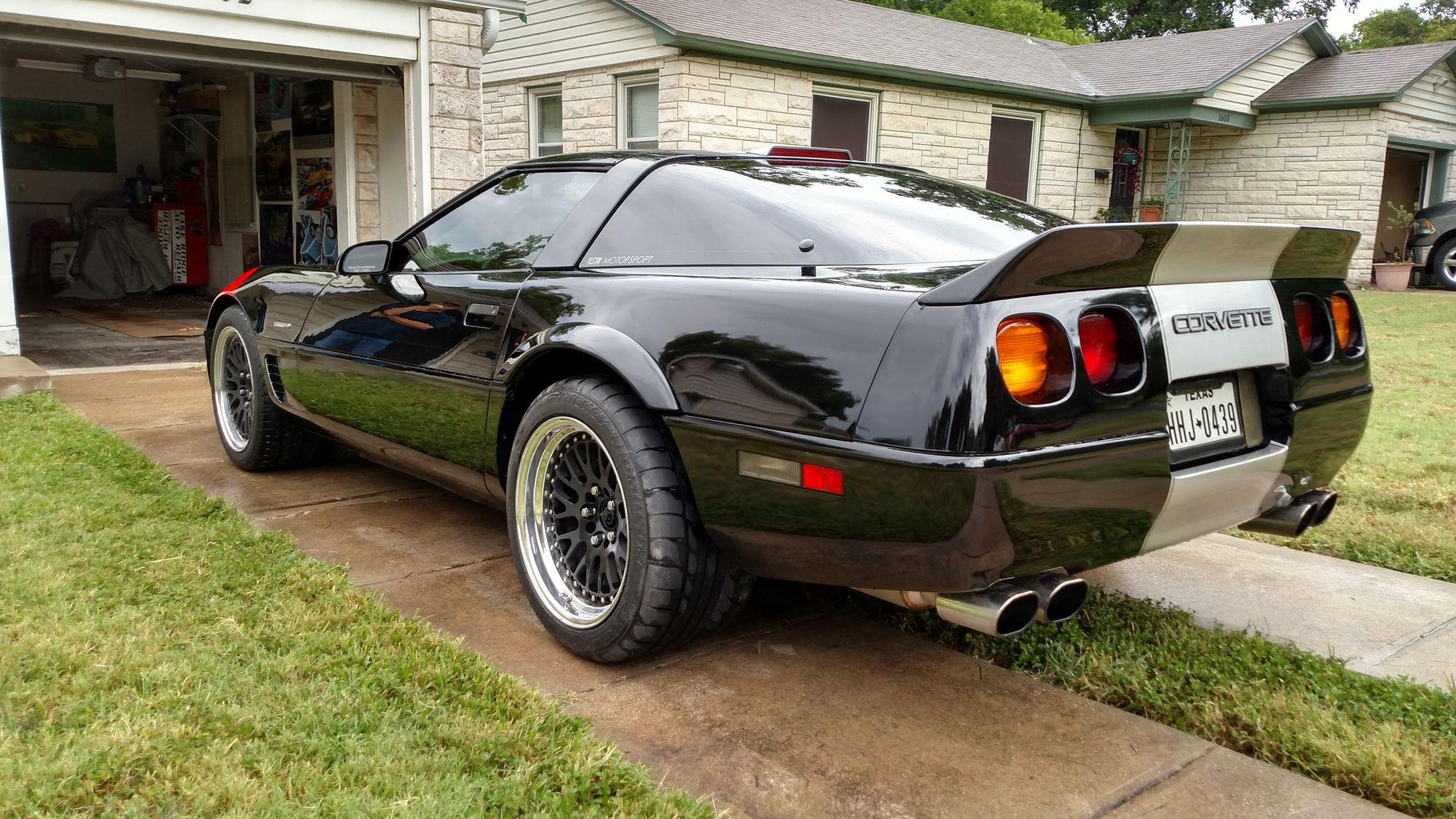New c4 rear spoiler - CorvetteForum - Chevrolet Corvette ...