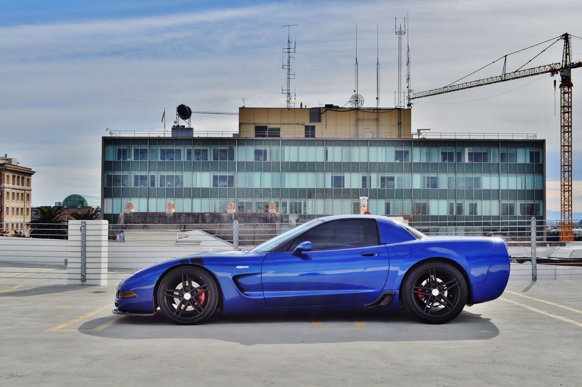 2003 Electron Blue Z06 30k Miles Norcal L5 Flared