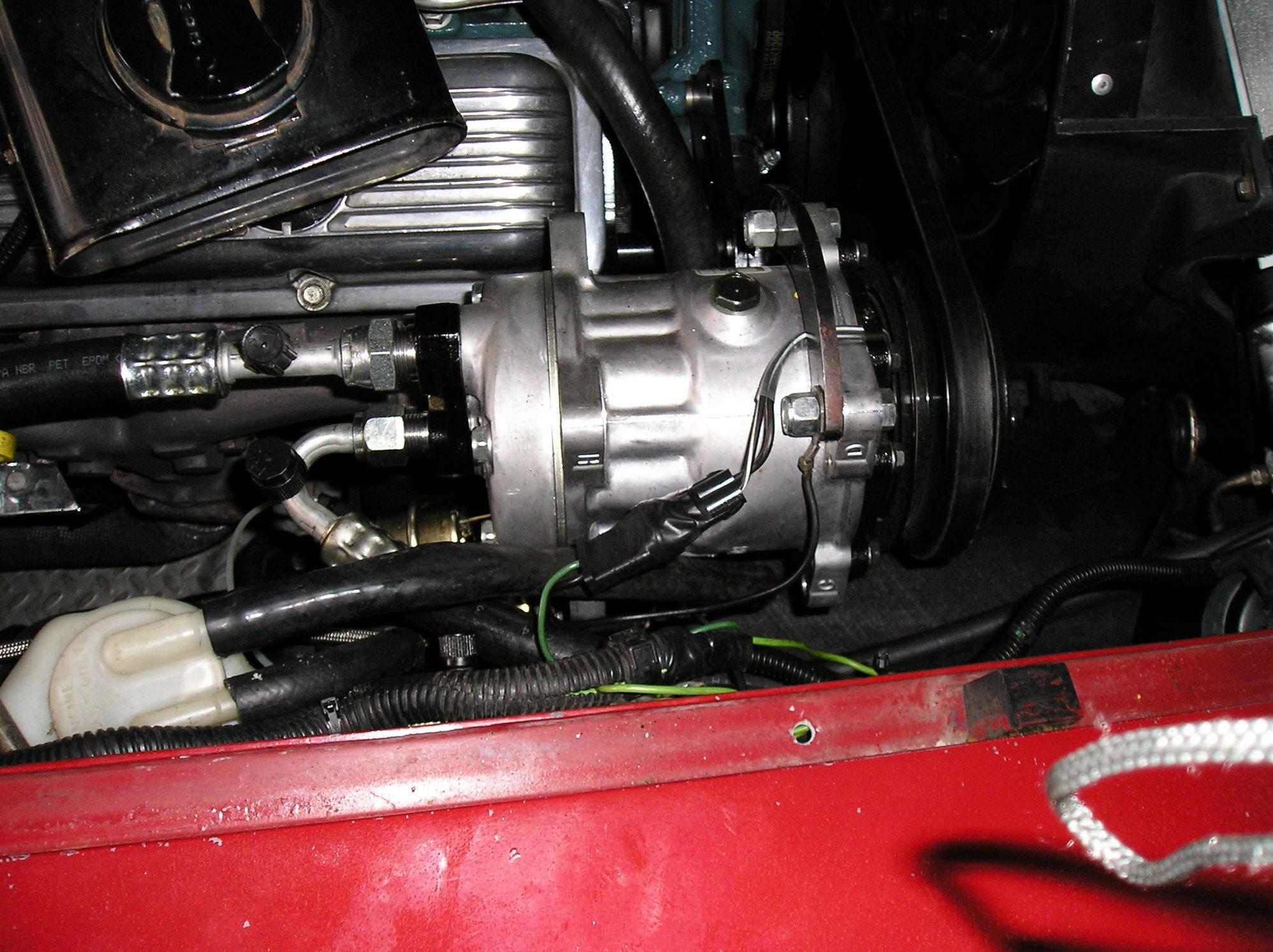 rear or normal exit Sanden 508 compressor upgrade - CorvetteForum
