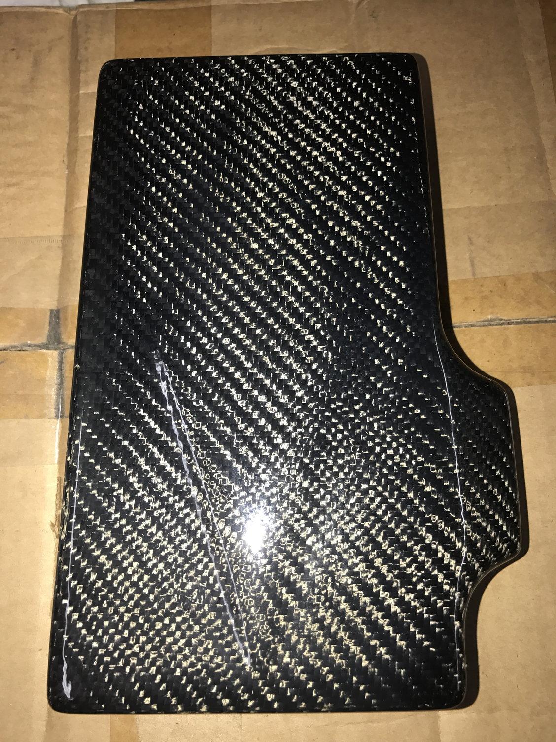 C6 Corvette Carbon Fiber Fuse Box Cover - Corvetteforum