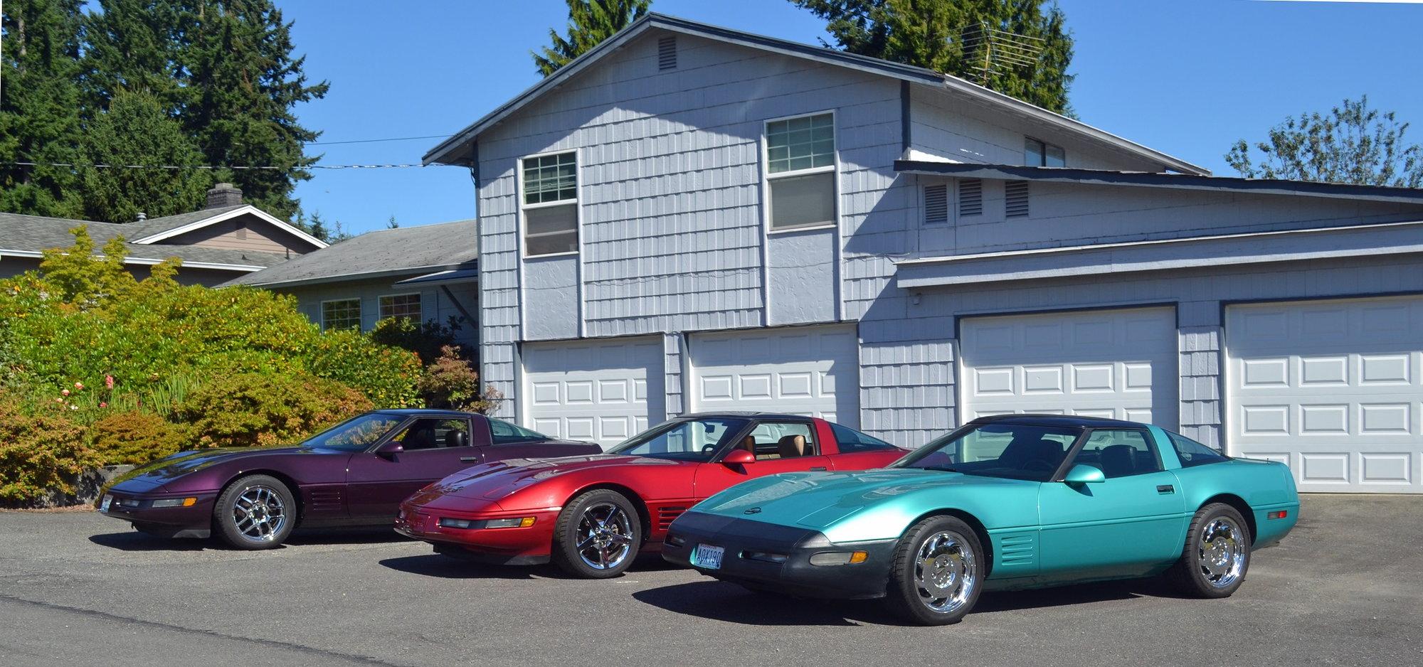 My 3 favorite c4 colors - CorvetteForum - Chevrolet Corvette