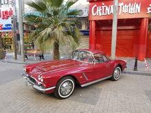 1962 corvette Honduras Maroon
