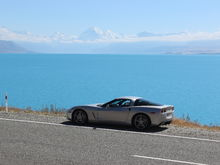 Lake Pukaki with Mount Cook in background