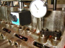"Degreeing in the Lunati Cam;  50250LUN, Hydraulic Roller, 242/252 @ .050"",  .595""/.612"", 110° lobe separation."