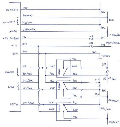 Avital 2101 Wiring Diagrams Avital 4111 Wiring Diagram Avital