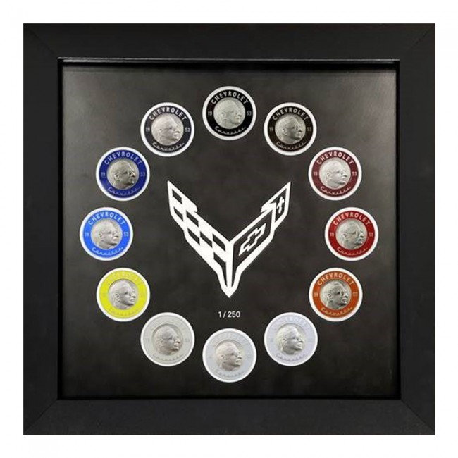 12th Generation Corolla Year 2020 Discussion Thread: 2020 Corvette Framed Commemorative Coin Sets & Individual