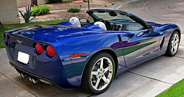 convertible lemans 2007 corvette c6 f55 23k 3lt mn6 mi corvetteforum fs chevrolet