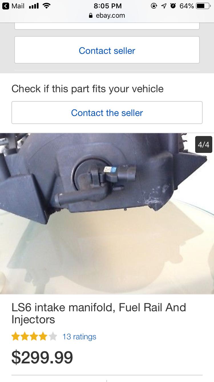 LS1 vs LS6 intake MAP sensor? - CorvetteForum - Chevrolet
