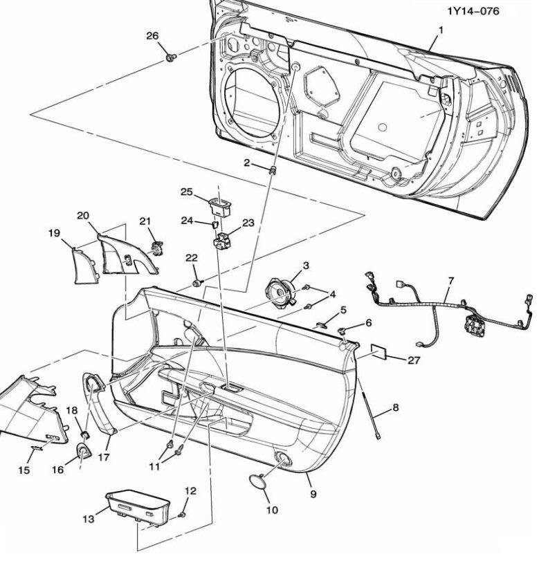 Help Finding A Door Panel Part - Corvetteforum