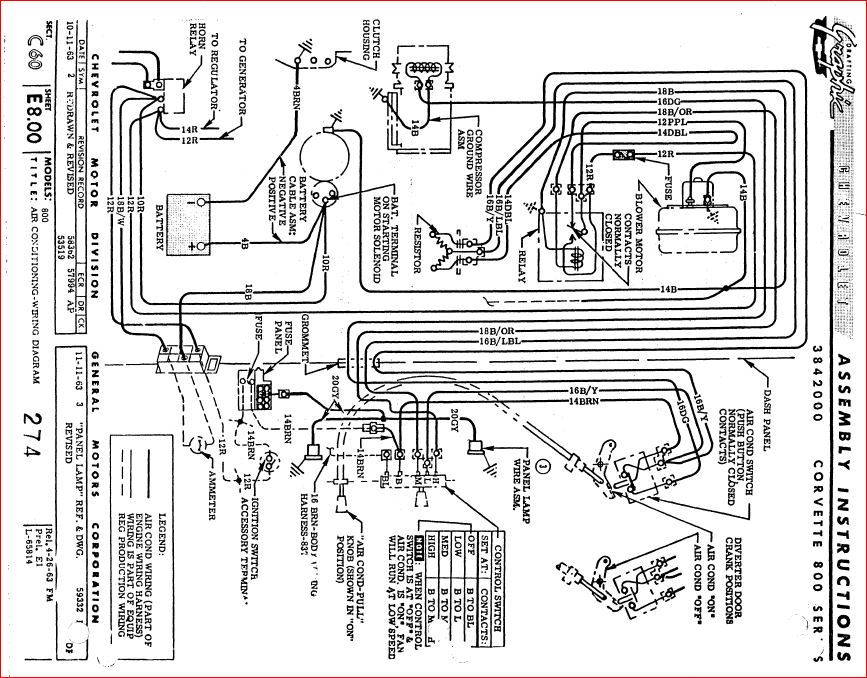 Blower Motor With A  C Wiring Diagram