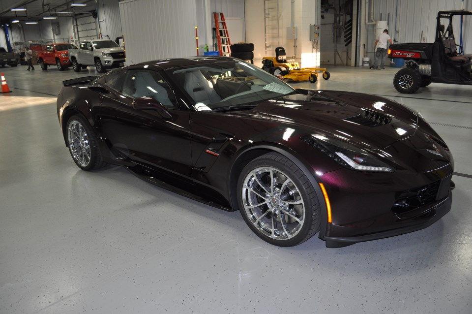 2017 black rose grand sport has arrived corvetteforum chevrolet corvette forum discussion. Black Bedroom Furniture Sets. Home Design Ideas