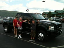 F350 with my family