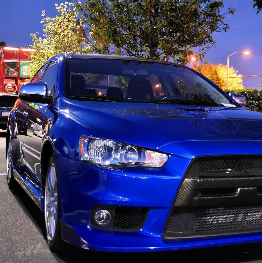 Mitsubishi Evo X Blue: Official Octane Blue Evo X Picture Thread