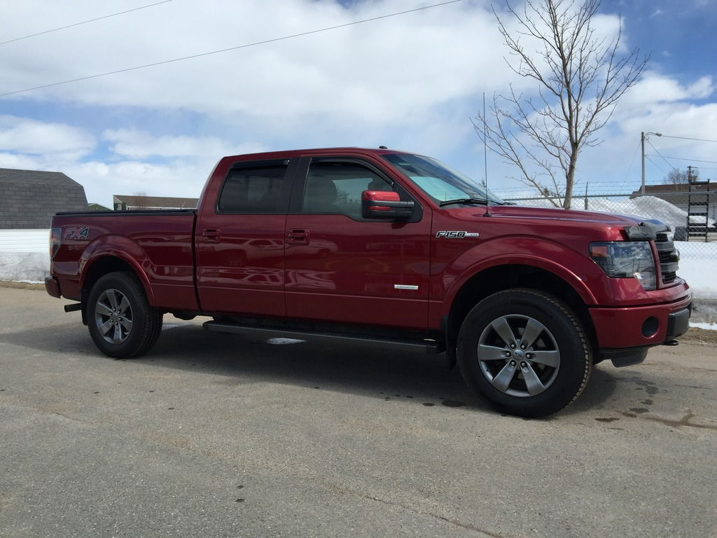 Let's see some OEM wheels with BIG tires. - Page 3 - Ford ...