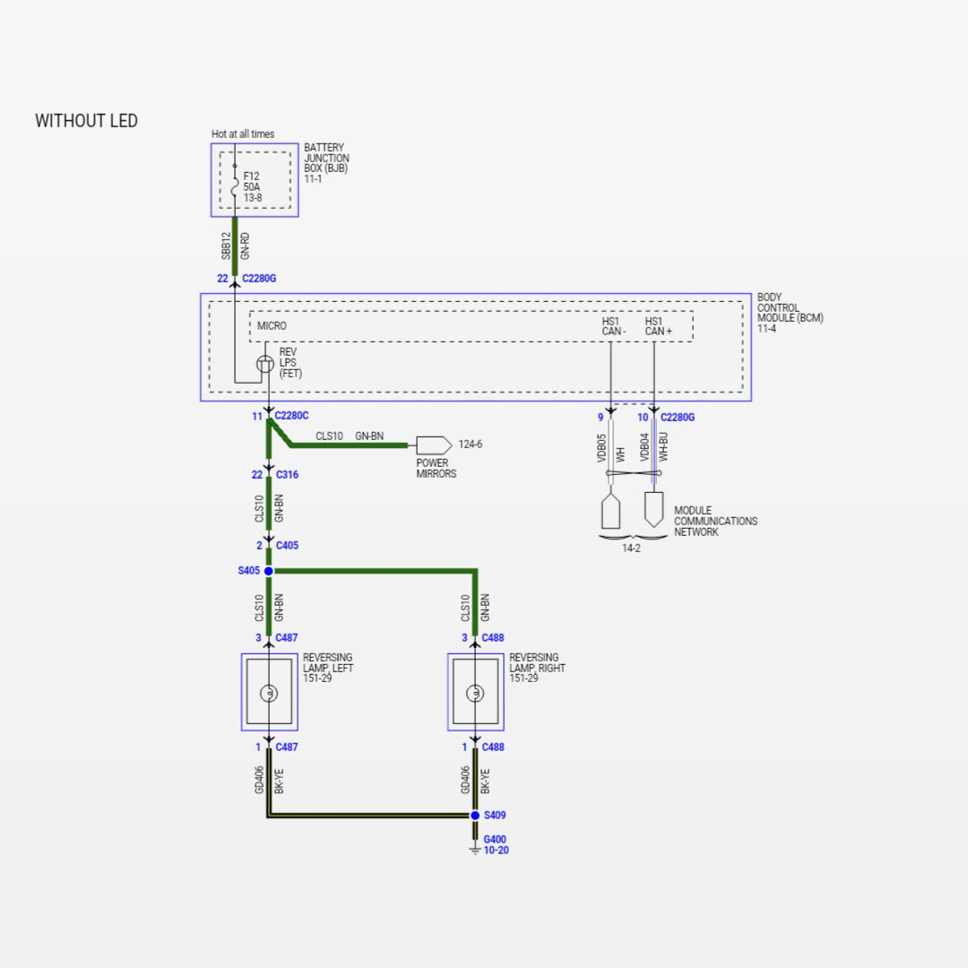 ford f 150 reverse light wiring wiring diagram Ford Backup Light Wiring Diagram 2006 ford f 250 backup light wiring