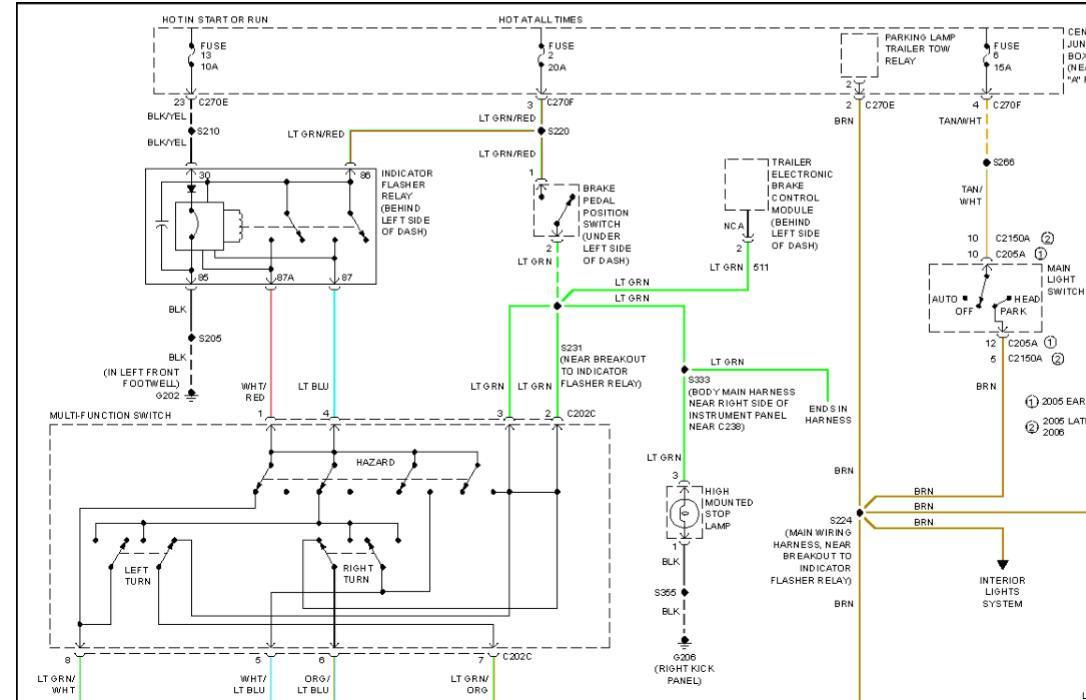 brake light and turn signal problem ford f150 forum. Black Bedroom Furniture Sets. Home Design Ideas