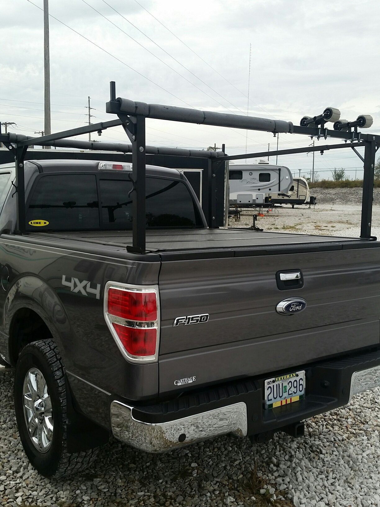 Bed Cover Compatible With A Ladder Rack Ford F150 Forum Community Of Ford Truck Fans