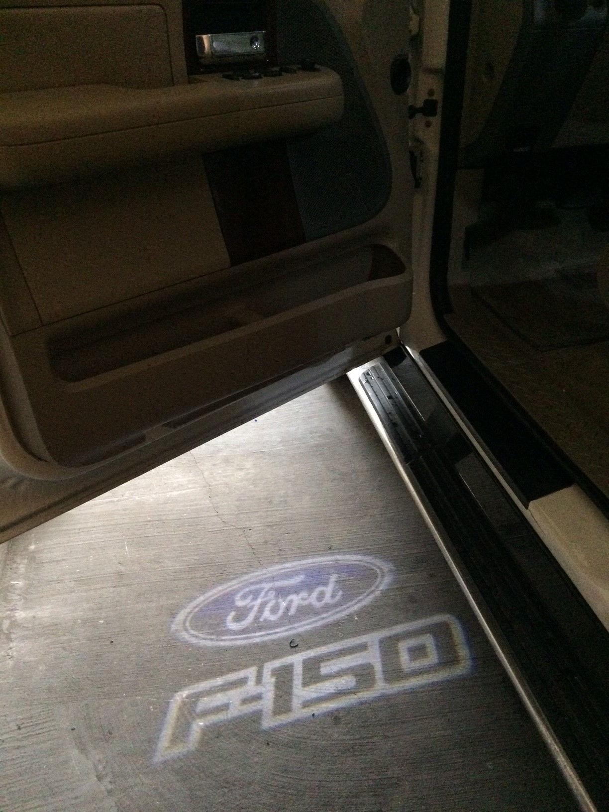 Ghost Shadow Lights - Car Door - Ford F150 Forum ...