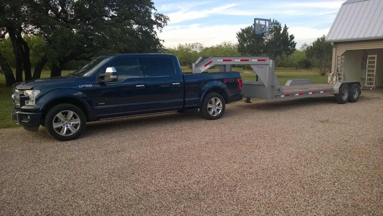 gooseneck weigh in ford f150 forum community of ford truck fans. Black Bedroom Furniture Sets. Home Design Ideas