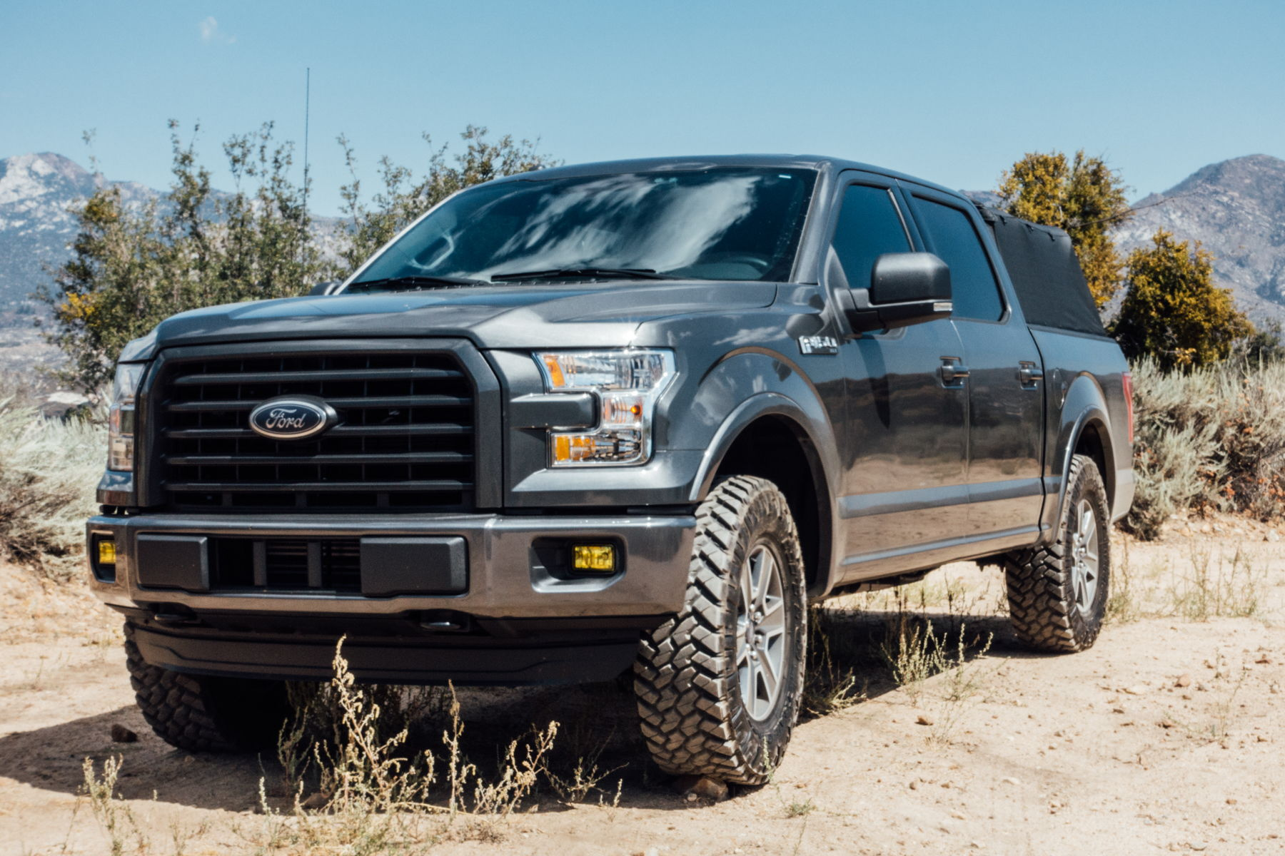 Show Me You Leveled Trucks With Oem Rims Page 9 Ford