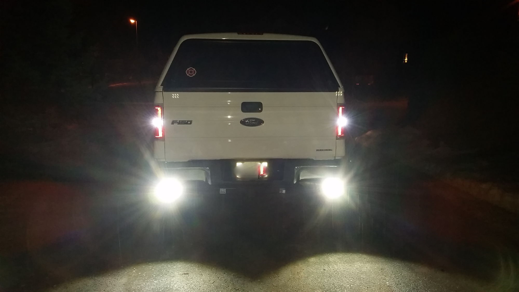 Leds reverse lights