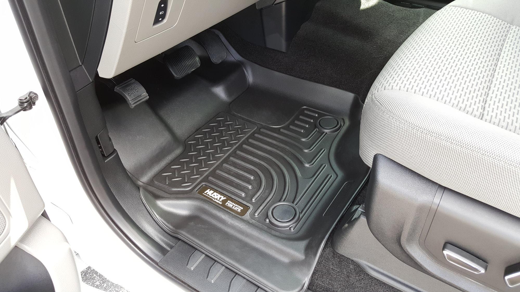 do weathertech mats  husky mats take away from a trucks