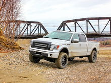 "2011 Ecoboost, 4"" Rancho Lift, 35"" Nitto Trail Grappler, 20"" Fuel Mavericks 0mm, Mesh Rivot Grill, 2"