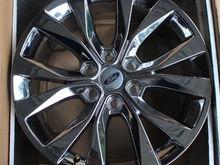 "2016 Ford F150 Lariat FX4 20"" x 8.5"" Chrome (PVD) Wheels"