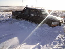 reason not to go drift busting when the drifts are higher than your bumper