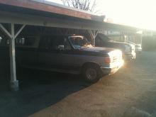 Both my trucks, before I gave away the 91